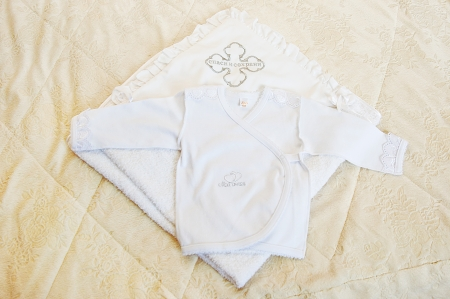 white christening clothes for boys photo