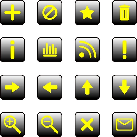 searches: Universal vector badges for business and the Internet