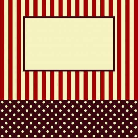 Congratulatory card or the invitation Stock Vector - 18307495