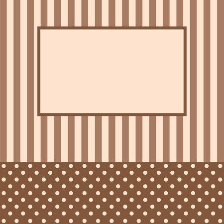 Congratulatory card or the invitation Vector