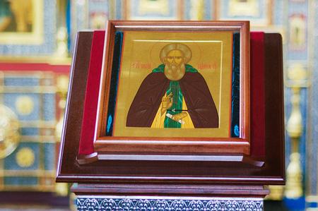 iconography: Orthodox church interior