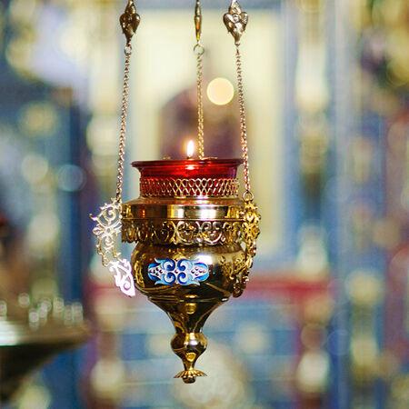 Orthodox church interior photo