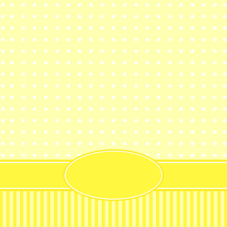 congratulatory: Template of a congratulatory card Illustration