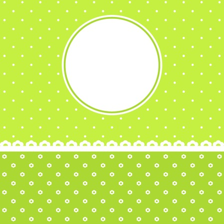 congratulatory: Template for a congratulatory card with a place for the text Illustration