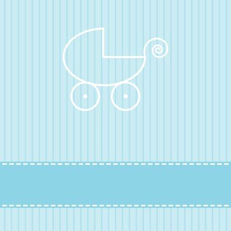 Bambino modello di biglietto