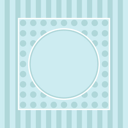 greetings card for holiday with corner curl design Vector