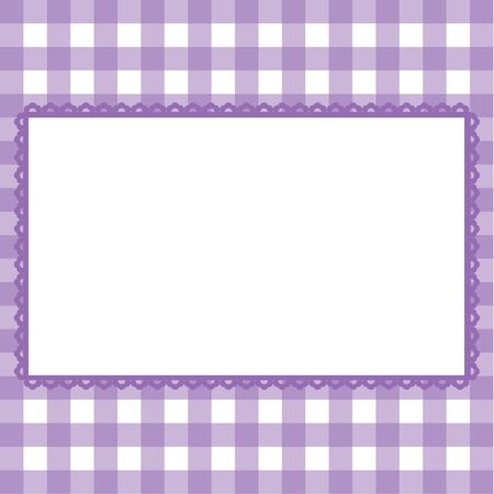 cute border: Template greeting cards in a cage