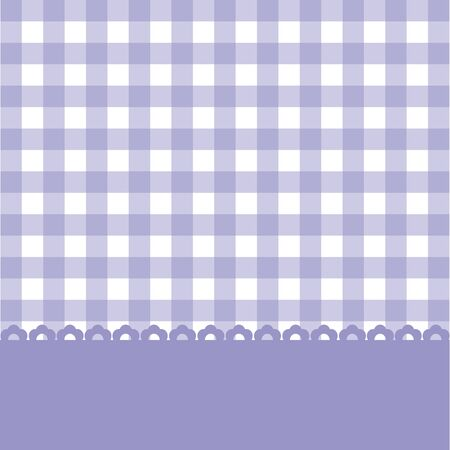 chequered ribbon: Colorful card for design and greetings. Illustration