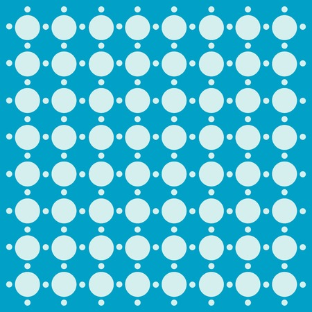 d offer: Simple polka background of circles Illustration