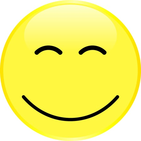 smiley face with a positive emotion vector royalty free cliparts rh 123rf com vector smiley face free vector icons of smiley faces