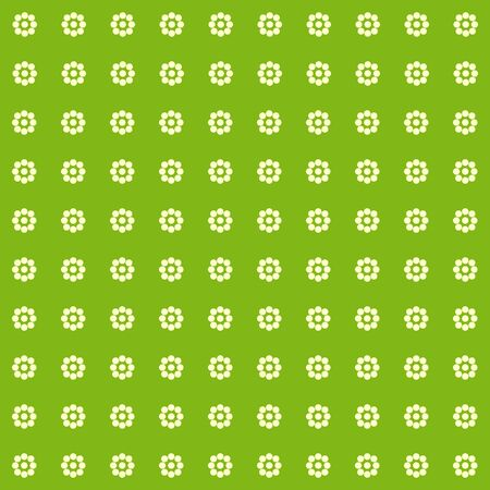 simple background: Simple colored background of small flowers. Vector.