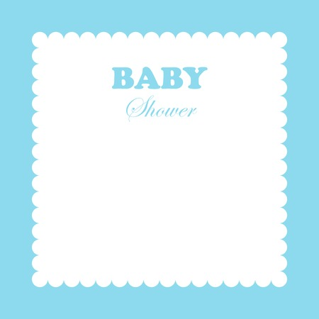 Baby template for greeting cards.