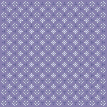 Seamless abstract pattern with flowers. Vector