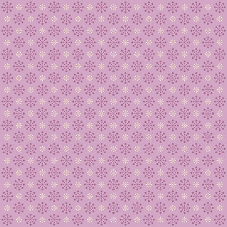 Seamless pattern with flowers. Vector image. Vector