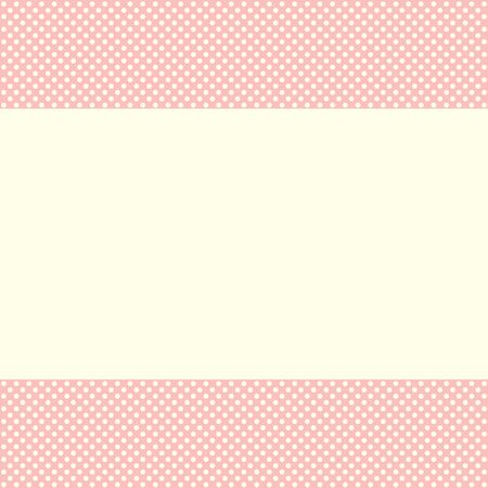 congratulatory: Template of a congratulatory card for childrens design Illustration