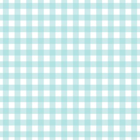 Blue background of plaid pattern, vector illustration