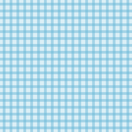 hankie: Blue background of plaid pattern, vector illustration