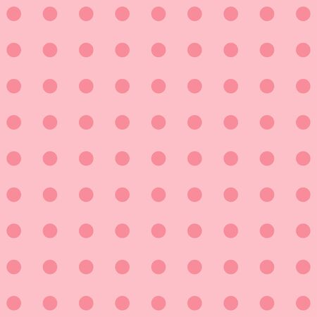 polka dot fabric: Polka dot fabric. Retro vector background or pattern