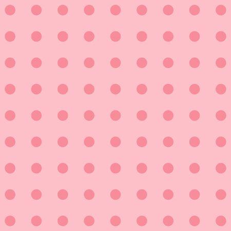 polka dot fabric: Polka dot tessuto. Retro vettore sfondo o il motivo