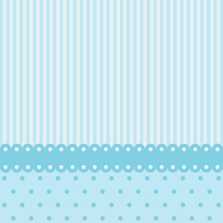 blue web icons: Vintage card design for greeting card, invitation, menu