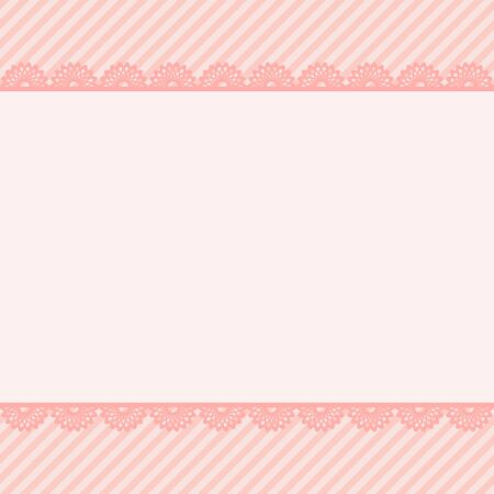 babygirl: Template birthday greeting card, cute floral illustration Illustration