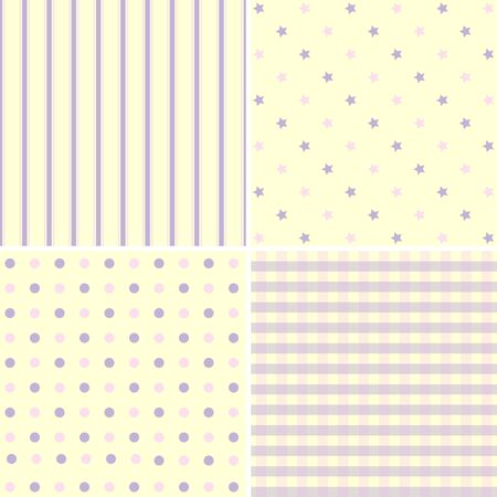pastel tone: Set of cute pattern and background  abstract pastel tone