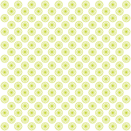 groene bloemen: White abstract bacground with green flowers. Vector image.