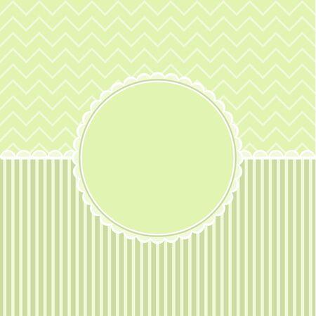 Template frame design for holiday card. Vector. Illustration
