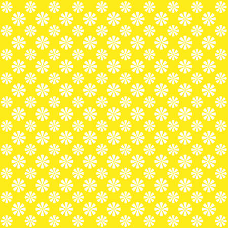 abstract bacground: Yellow abstract bacground with flowers. Cute image.