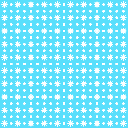 beautiful ditsy floral background. Blue vectoe image.