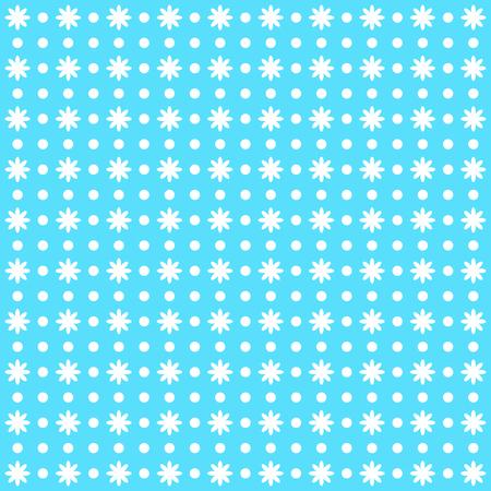 vectoe: beautiful ditsy floral background. Blue vectoe image.
