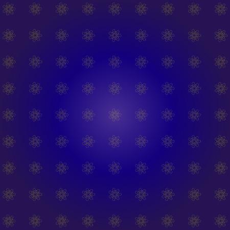 stelle blu: Dark blue stars pattern. Elegant retro illustration. Vettoriali