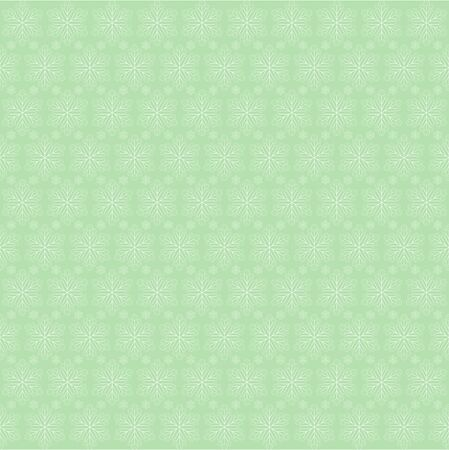 spangle: Elegant Christmas background with snowflakes in pastel green tones Illustration