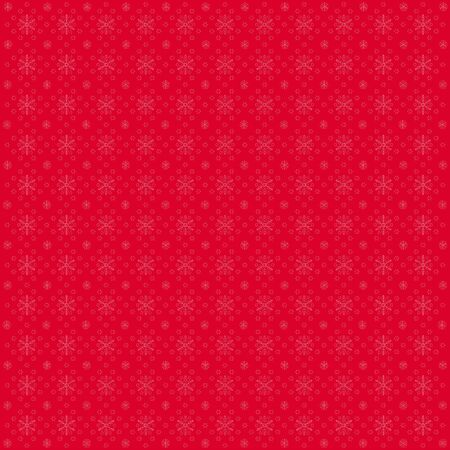 cristmas: Cristmas Snowflakes Background in Red tones. Vector.