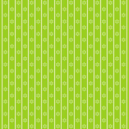Vector holiday winter retro pattern in green tones Ilustração