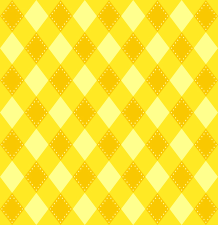 plaid pattern: Plaid pattern in yellow tones. Vector image.