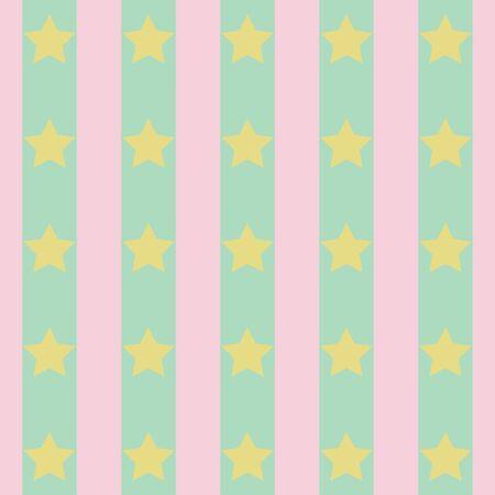decoratively: Abstract geometric retro polka star background. Vector illustration.