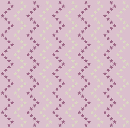 Stars vector pattern. Lilac texture with star pattern Ilustrace