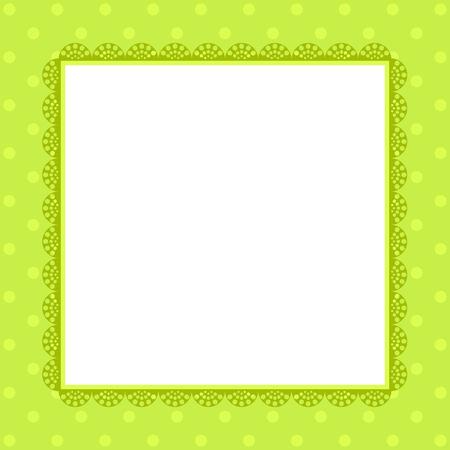 festive: Cute invitation template for festive events. vECTOR.
