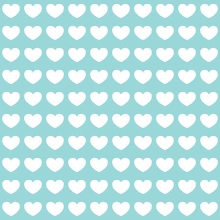 corazones azules: Modelo lindo. corazones blancos sobre fondo azul