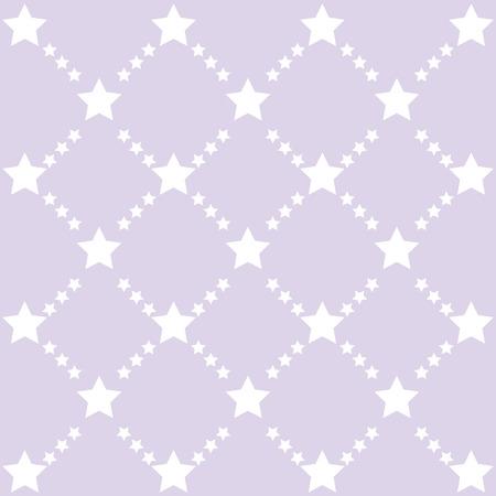 forme: Retro stars motif. Couleur étoiles pastel fond