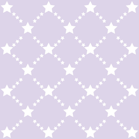 round shape: Retro stars pattern. Color pastel stars background