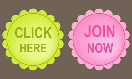 join here: Click here and join now buttons. Illustration