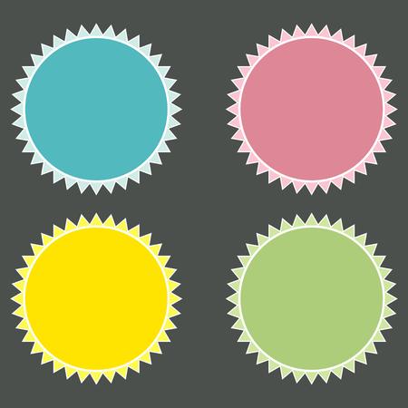 rollover: Set of  web buttons for website or app. Vector image. Illustration