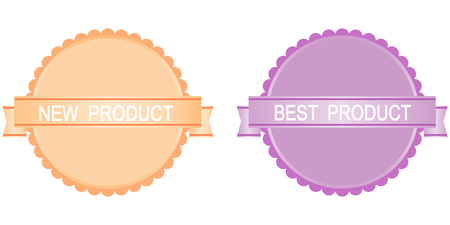 best product: New product and best product buttons. Sale.