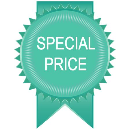 special price: special price sign isolated on white background