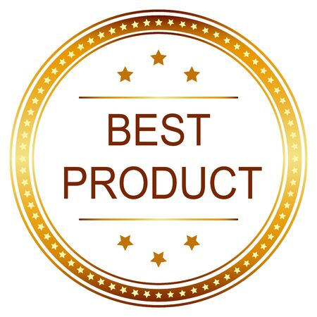 best product: Best Product Badge and seal.