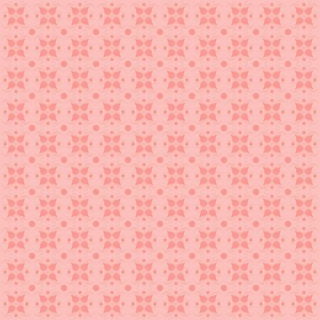 rapport: Floral pattern. Wallpaper in pastel tones. Pink background.