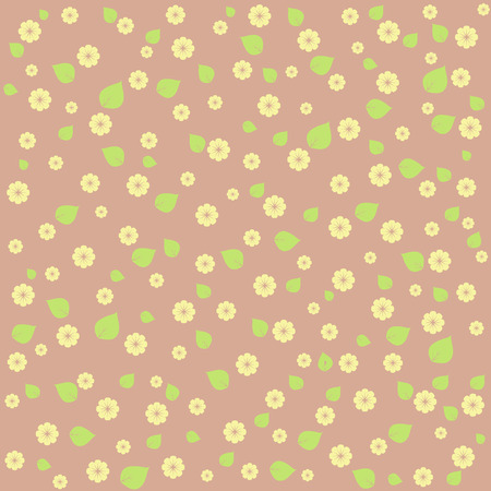 tiny: tiny floral pattern on pastel background. Cute image.
