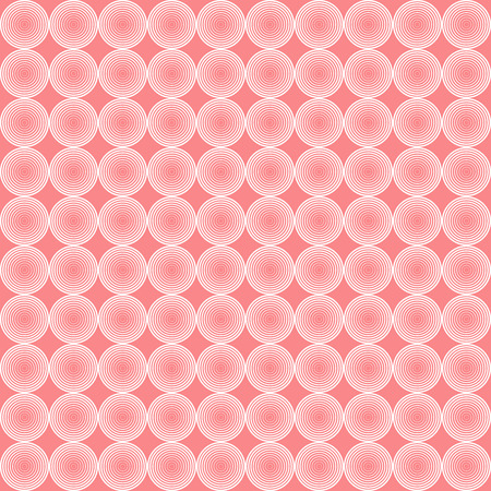 pattern corporate identity orange: vector illustration of pink geometric background with circles